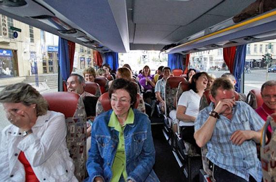 Comedy Sightseeing-Bustour für 2
