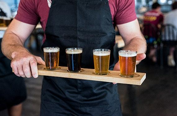 Craft Beer Tasting im Dunkeln in Wetzlar