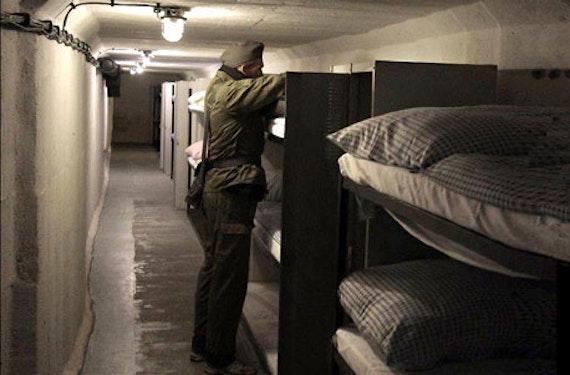 Übernachtung im Bunker-Hotel bei Ilmenau für 2