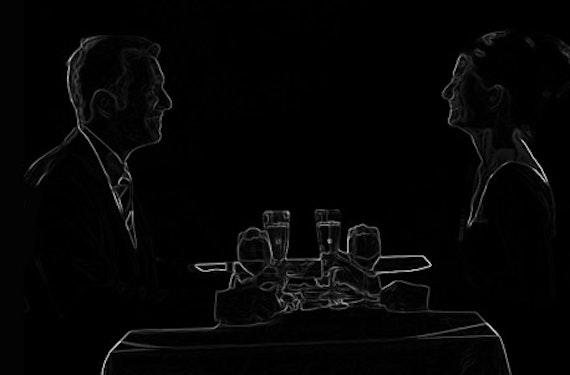 Dinner im Dunkeln mit Übernachtung für 2 im Raum Wels