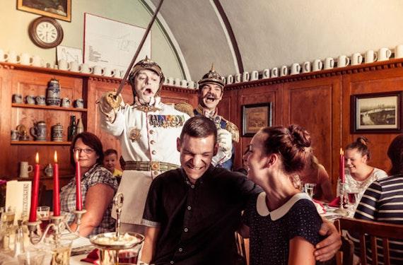 7-Könige-Dinner auf der Festung Königstein