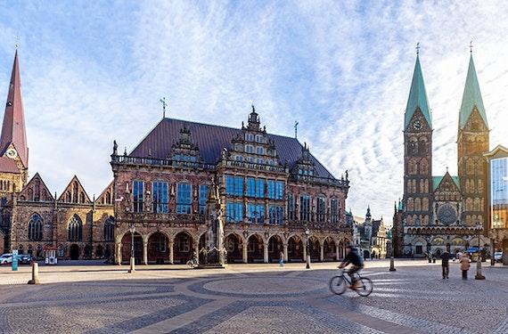 Candle-Light-Dinner & Nachtwächter-Tour Bremen für 2