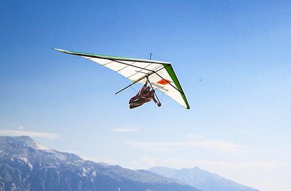 Drachen Tandemflug Schweiz