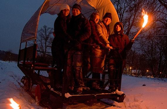 Kurzurlaub mit Draisinenfahrt in Brandenburg für 2