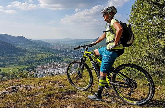 E-Mountainbike-Tour mit Guide