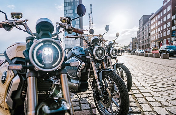 E-Moped Tagesausflug Hamburg
