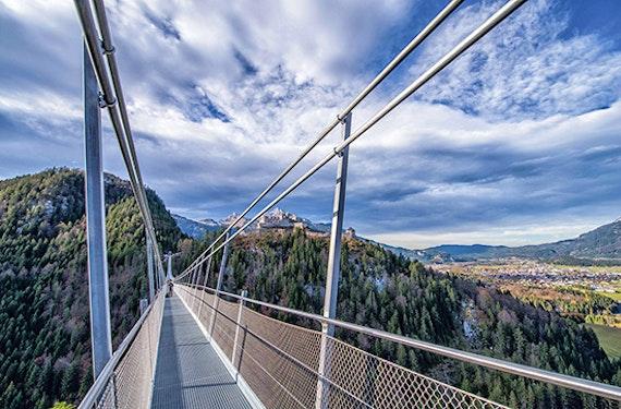 E-Roller Tour & Highline 179 Überquerung bei Reutte
