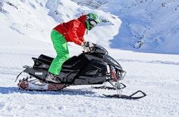 E-Schneemobil fahren in Engelberg