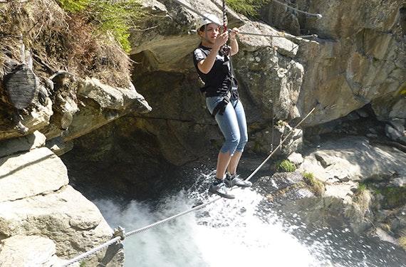 Einsteiger Klettersteig in Tirol