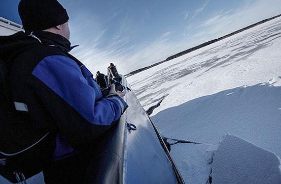 Eisbrecherabenteuer in Finnland für 2
