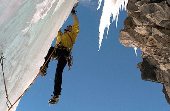 Eisklettern in Tirol