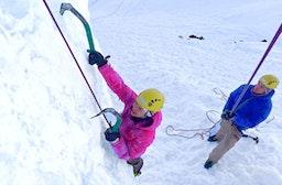 Eiskletterkurs in Adelboden