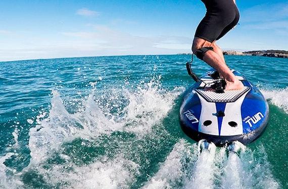 Jetsurf: Surfbrett mit Motor fahren auf Mallorca