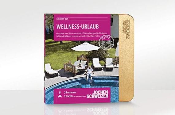 Erlebnis-Box 'Wellness-Urlaub für 2'