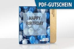 Erlebnis-Box 'Happy Birthday' als PDF