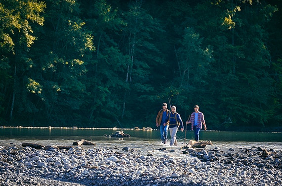 Vater-Sohn-Erlebniscamp im Chiemgau