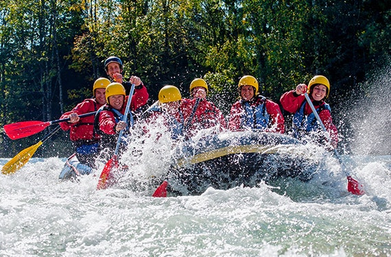 Erlebnistag Isar Rafting für 2