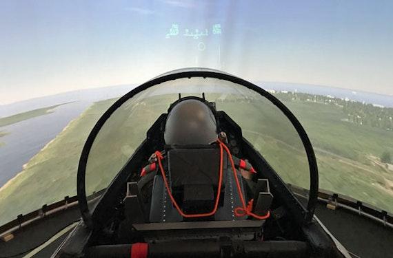 F16 Fighting Falcon Flugsimulator