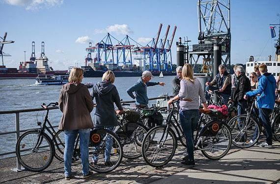 Fahrradtour Hamburg (3,5 Stunden)