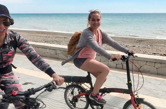 Fahrradtour durch Marbella