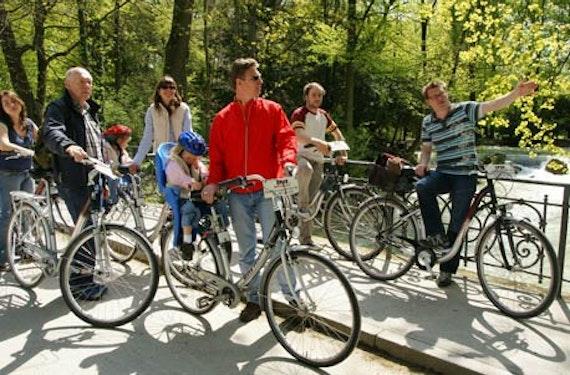 Fahrrad-Stadtrundfahrt in München für 2