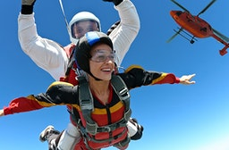 Fallschirm Tandemsprung Schweiz