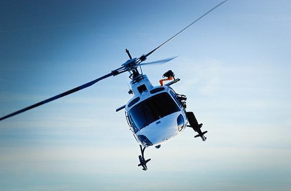 Fallschirm Tandemsprung aus dem Helikopter in Taufkirchen