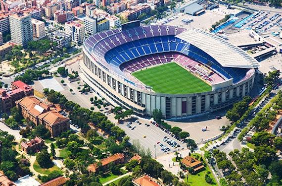 Barcelona Wochenende mit Stadion-Ticket