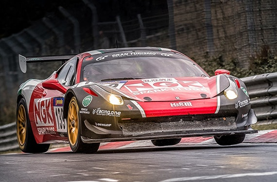 Ferrari F458 Renntaxi