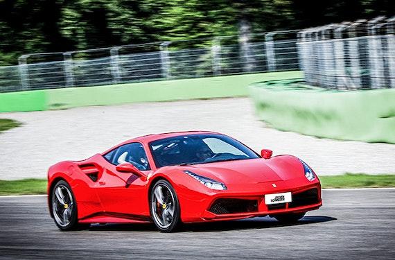 Ferrari fahren Monza (2 Rdn.)