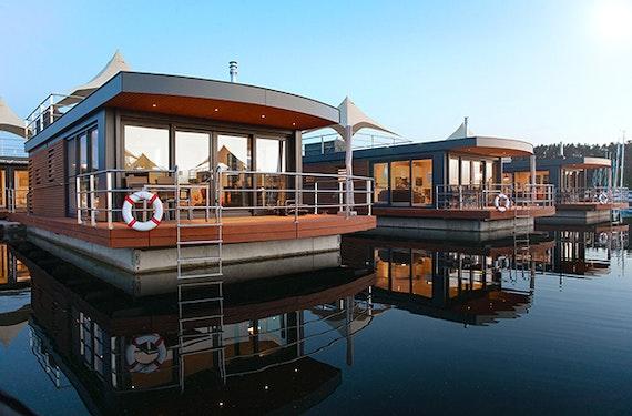 Sommer-Kurzurlaub im Floating Village Brombachsee inkl. Frühstück für 2