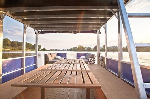 Floßfahrt auf dem Wannsee für bis zu 8 Personen