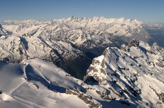 Im Ultraleichtflugzeug zum Matterhorn