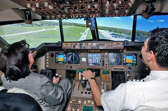 Flugsimulator Boeing 747
