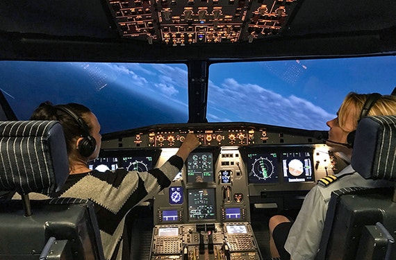 Flugsimulator Airbus und Boeing Markranstädt