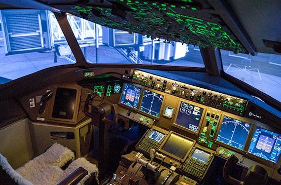 Flugsimulator Boeing 777 in Zürich (120 Min)