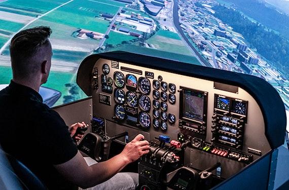 Flugsimulator Bruchsal (60 Minuten)