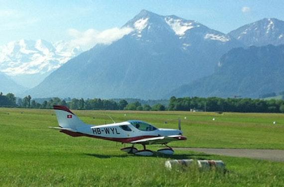 Ultraleichtflugzeug selber fliegen Schweiz