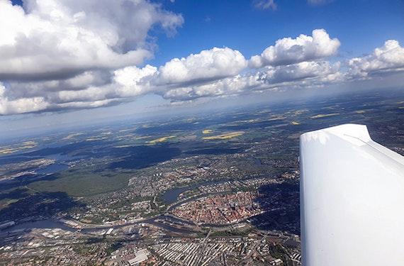 Flugzeug Rundflug Lübeck (60 Minuten)