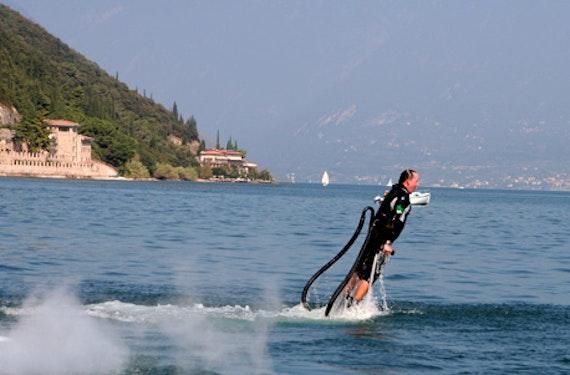 Flyboard fliegen am Gardasee