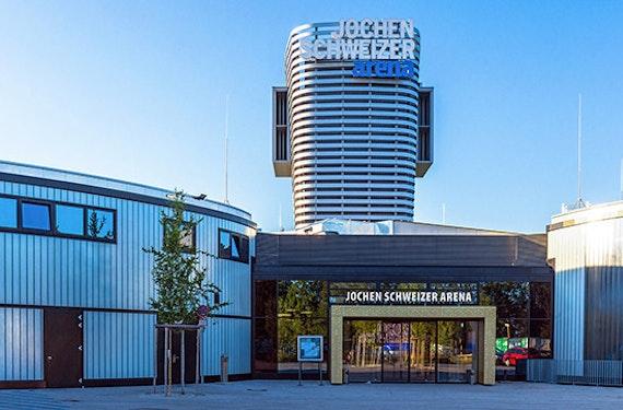 Flying Fox für 2 - Arena München