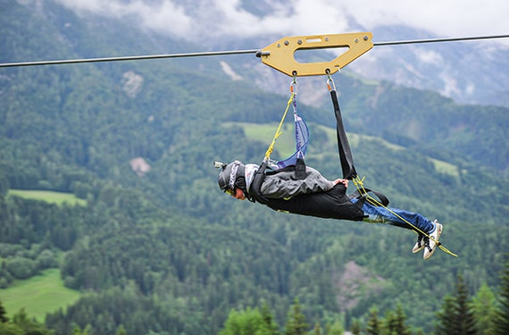 Flying Fox XXL im Salzburger Land