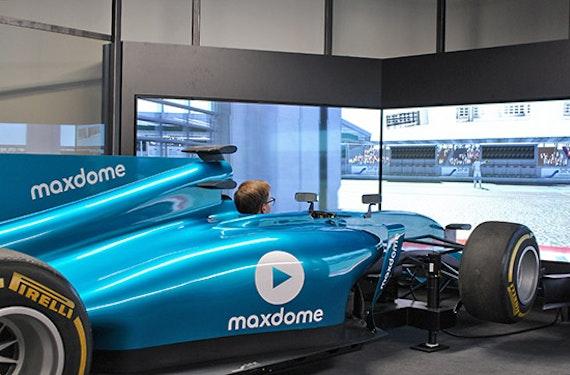 Formel 1 Rennsimulator in Berlin (60 Min.)