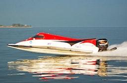 Formel 1 Powerboat Renntaxi