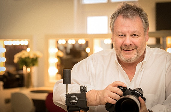 Fotoshooting mit Guido Karp