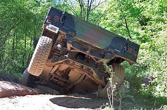 Hummer H1 im Gelände fahren in Mitteldeutschland (60 Min.)
