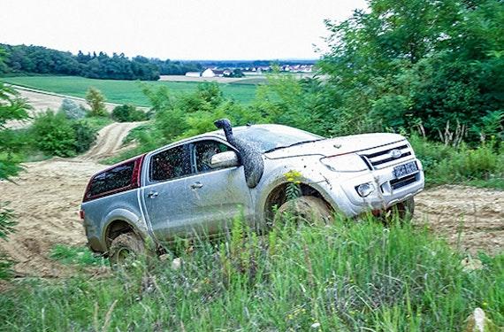 Einsteiger-Training im eigenen Geländewagen Raum Ingolstadt