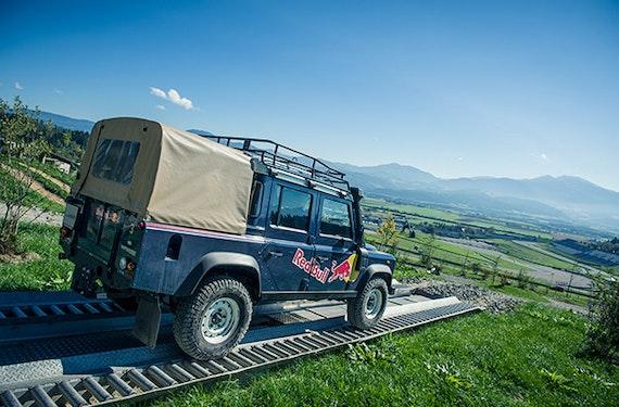 Geländewagen Offroad fahren Spielberg (1,5 Std.)