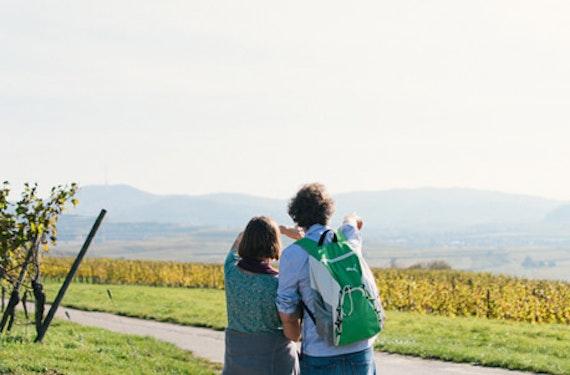 GPS Weinwanderung & Winzervesper im Kaiserstuhl für 2