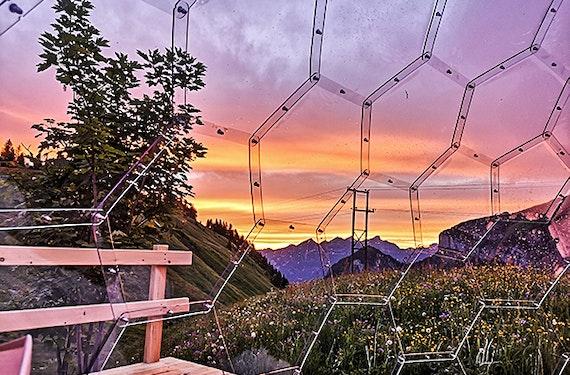 Kurzurlaub im Glas Iglu Isenthal für 2 (2 Nächte)